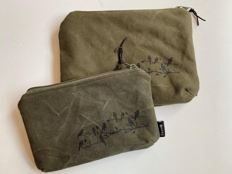 Bags made of duffel bag birds image 0