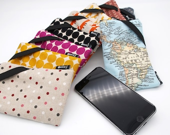 Sleeve case for mobile phones