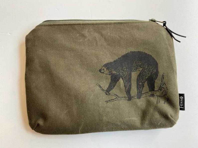 Bag from duffel bag sloth image 0