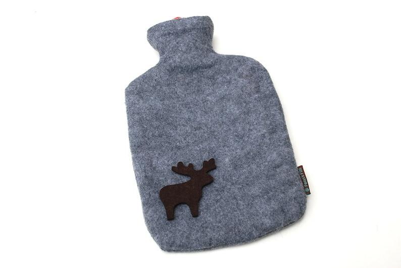 Hot water bottle moose image 0