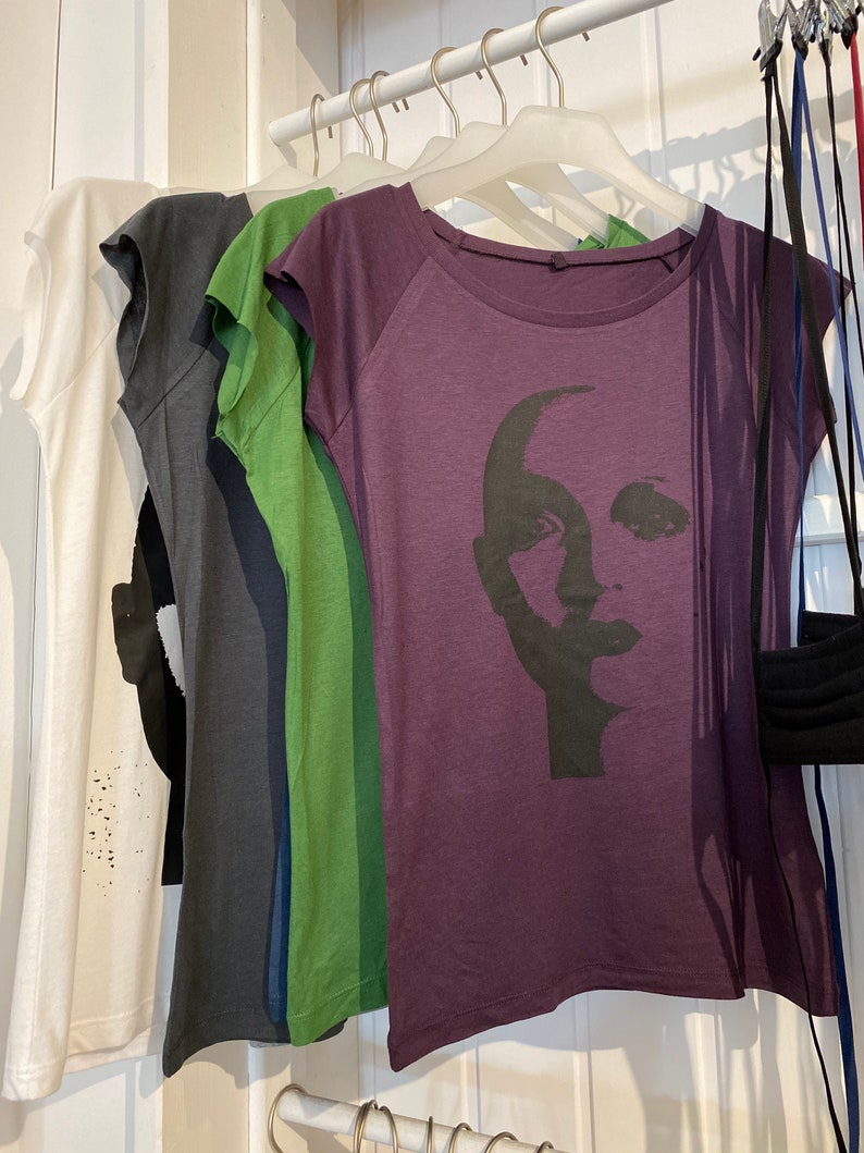 T-shirt Bamboo with print image 0
