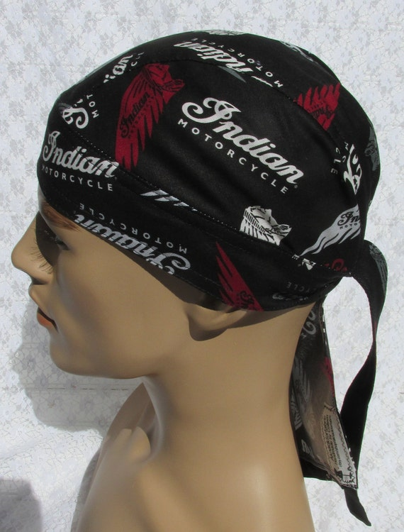 Mardi Gras skull cap doo rag Handmade in the USA. chemo hat scrub hat with a built in terry cloth sweat band cancer hat