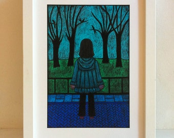 MORNING CONTEMPLATION Giclée Limited Edition