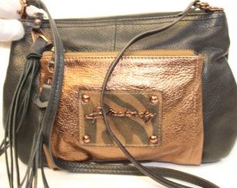3eb9d83b4a2 B Makowsky Handbags, Authentic Designer Bags, Leather Fringe Purse, Boho Bag,  Hobo Bag, Hippie Fringe Bag, Crossbody Shoulder Bag