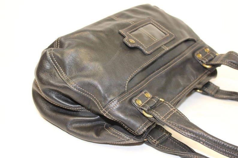 d1e70236cee CLEARANCE HANDBAGS FOSSIL Designer Handbag, Glazed Leather, Boho Chic  Handbags, Hobo Bag, Multi-Pockets Organizer Shoulder Bag