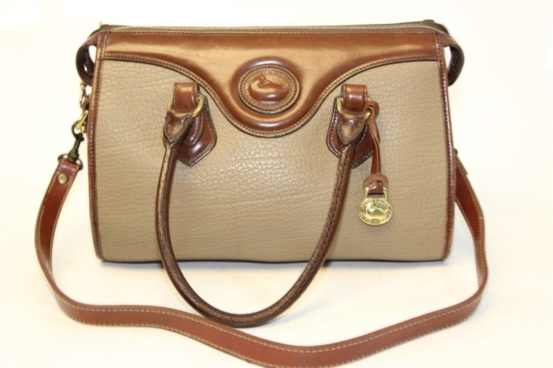 8e377d5801 RARE DOONEY BOURKE Vintage Handbag Authentic Designer Bag