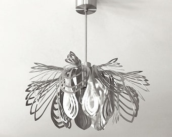 Lamp STEEL PETALS  made of stainless steel