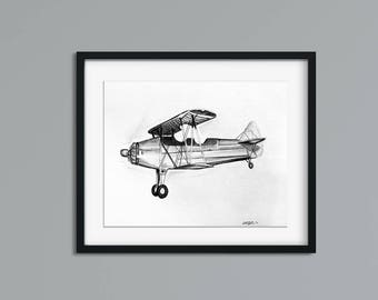 Airplane wall art  9946438f1