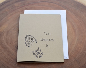 Step Dad Card, Card for Step Dad, Second Dad Card, Father In Law Card, Bonus Dad Card, Mentor Card, Foster Father Card, Like a Dad, Stepdad