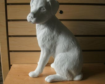 Large Outdoor Dog Statue Hound Dog Beagle Dog Made To Order Garden Statue  Ready To Paint Unpainted Dog Outdoor Ready Gifts For Him Dog Lover