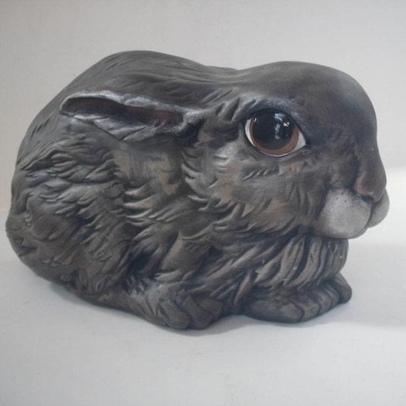 Outdoor Garden Statue Bunny Rabbit Cute Bunny Garden Decor | Etsy
