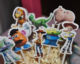 Toy Story Cupcake Toppers Set of 12