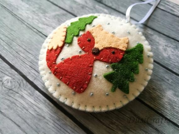 quilting wool blend christmas decorations handmade Woolfelt Valley Felt Pack