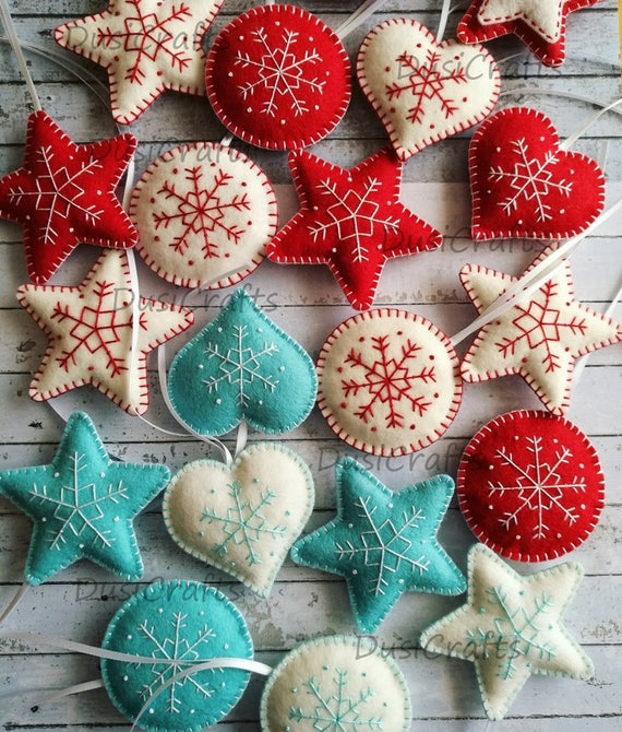 image 0 - Red White And Turquoise Christmas Decor