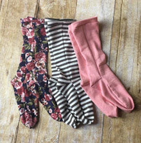 9dd484fd91e 3 pairs of Knee High Socks toddler socks infant socks knee