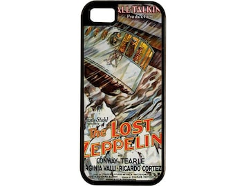 The Lost Zeppelin Was a Late 20s B Movie  iPhone Case 4, 4s, 5, 5C, 6, 6+ and Samsung Galaxy 3, 4, 5, 6, Edge