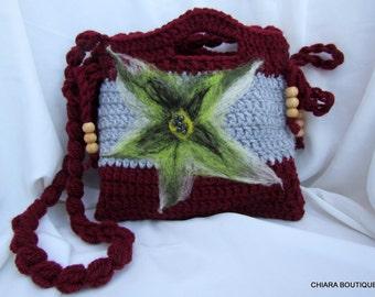bag girls,Knitting Purse small,Crochet Purse,Crochet Clutch. Girls Crochet Purse.Crochet bag for girls.