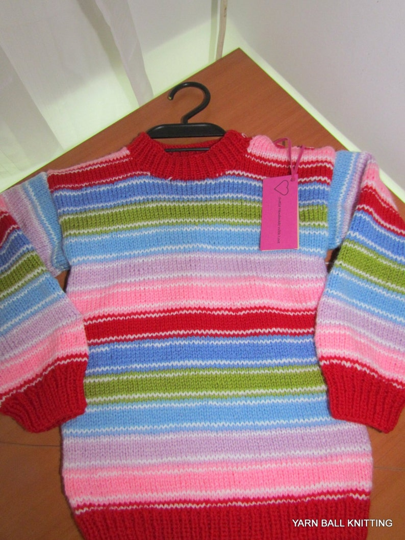 Sweater Children hand-knitted sweater CHUCKY Dolls Good image 0
