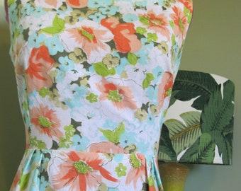 GALLIVANT of MELBOURNE - Original Vintage 1960's - Bombshell Summer Day Dress!