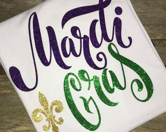 Mardi Gras Shirt GIRLS