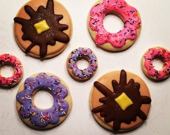 Custom Cookies ~ Donut Cookies ~ Pancake Cookies ~ Breakfast Cookies
