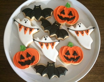 flash sale halloween cookies sugar cookies