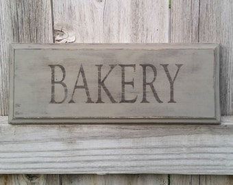 Bakery Sign - Farmhouse Sign - Farmhouse Wood Sign - Farmhouse Decor - Rustic Wood Sign - Kitchen Sign - Kitchen Decor - Kitchen Wall Art
