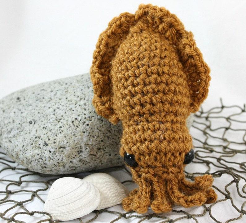 Honey Tan Sia the Cuttlefish Stuffed Animal