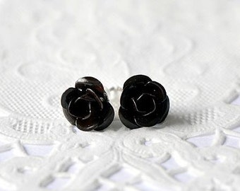 Earrings, Stud Earrings, studs, Stud Earrings, small flowers in colored metal, fancy jewelry, jewelry flowers
