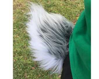 Fluffy Rabbit Bunny Tail (Gray/White/Brown/Beige) Cosplay