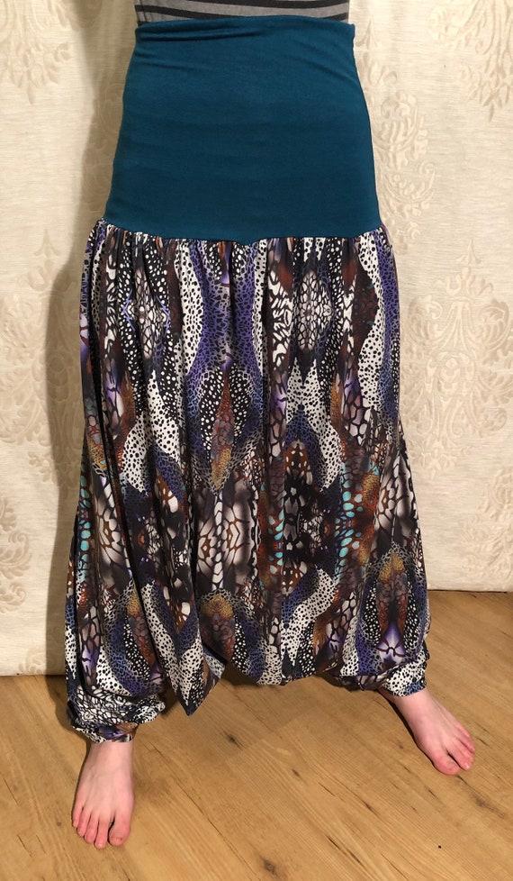 Harem Pants with fantasy print