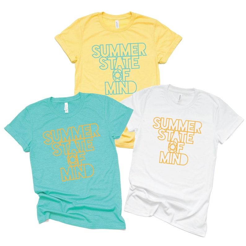 fad956d098e9 Summer Shirt/ Summer State of Mind Shirt/ Summer Vacation | Etsy