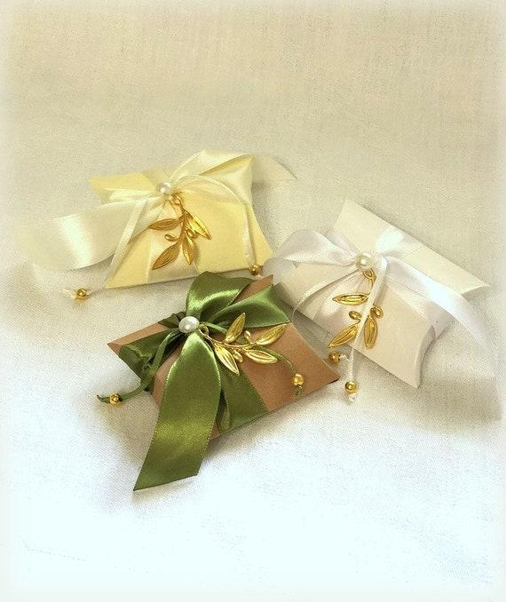 Bomboniere Matrimonio Low Cost Online.Wedding Favor Boxes 30 Pcs Greek Wedding Bomboniere Etsy