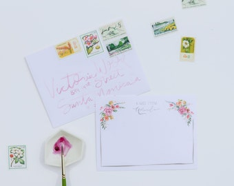 "Custom Stationery ""Amanda"""