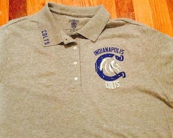 Nfl Polo Shirts Etsy