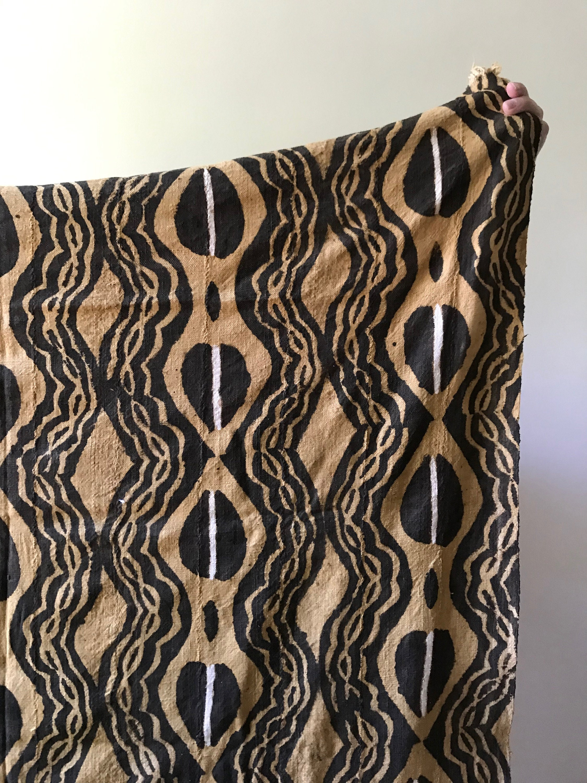 Vintage West African Mud Cloth
