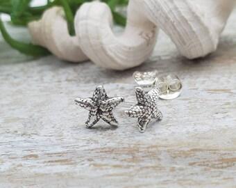 Small Starfish Stud Earrings / Sea Life