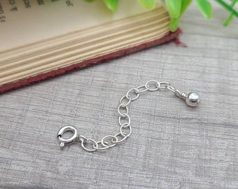 Sterling Silver Adjuster Chain