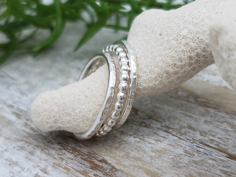 Sterling Silver Stack Rings / Stack / Sets image 0
