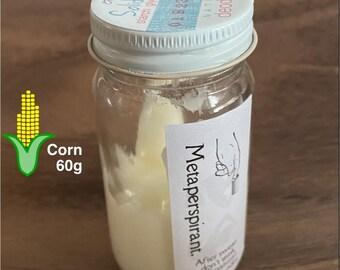 Deodorant, Free of Metal, Salt, Oil
