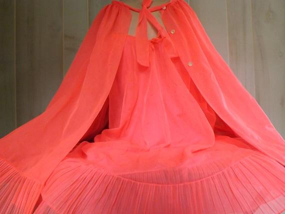 1940''s GODFREID ORIGINAL LINGERIE Robe Gown