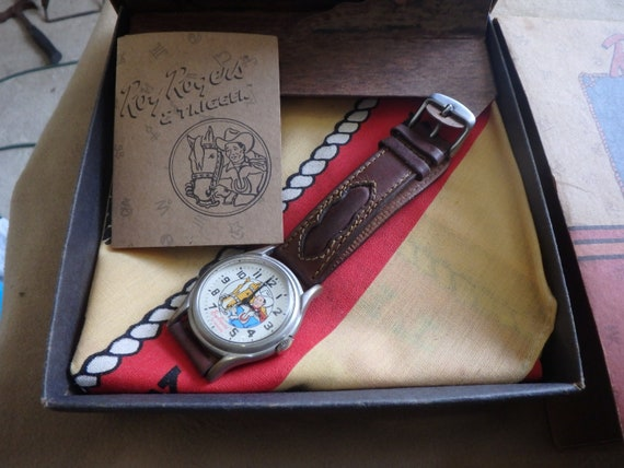 FOSSIL Roy Rogers and Trigger Watch 1993 Limited E