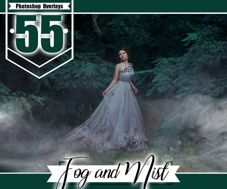 50 Fog smoke overlay, Photoshop Overlay, mist and Haze Photo Layer, Mistic  Foggy Clouds Effect, realistic overlays, png jpg file