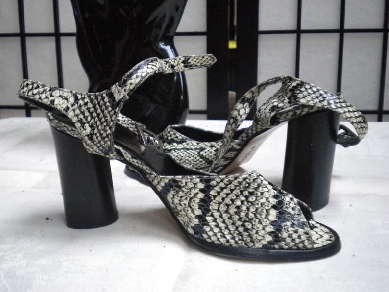 Italian Sandals Lizard Never SummerEtsy Vintage Worn Spring drtshQ