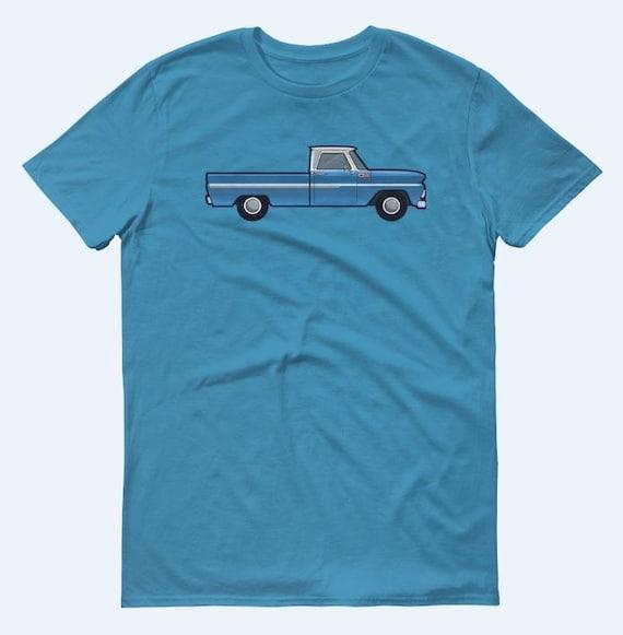 Chevy T Shirts >> Chevrolet Shirt C10 Pickup Chevy T Shirt Vintage Style Mens Clothing