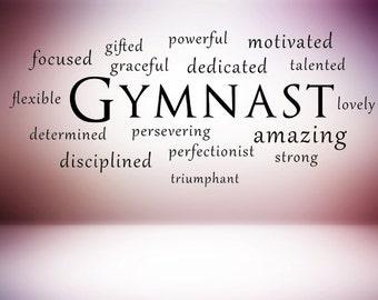 Gymnastics Quotes | Gymnastics Quotes Etsy