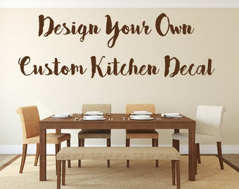 More Colors. Kitchen Wall Decal   Dining Room ...