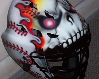 Catchers Helmet Etsy