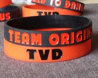 The Vampire Diaries Team Original Silicone Bracelet