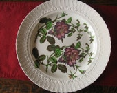 Vintage Royal Cauldon Chop Platter Tray in the Flower Series
